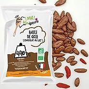[MA] bio-épicerie | Baies de goji enrobées de chocolat au lait BIO | 440G | Sachet vrac | Certifié biologique