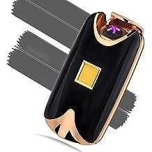 [ Novedad 2017 ]    DALKOW   Encendedor electrónico táctil de plasma recargable por USB
