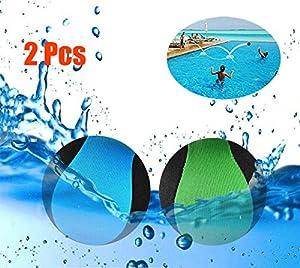JYOHEY 2 Stück Wasserball Wasser Flummi Springender Ball auf Wasser Für...