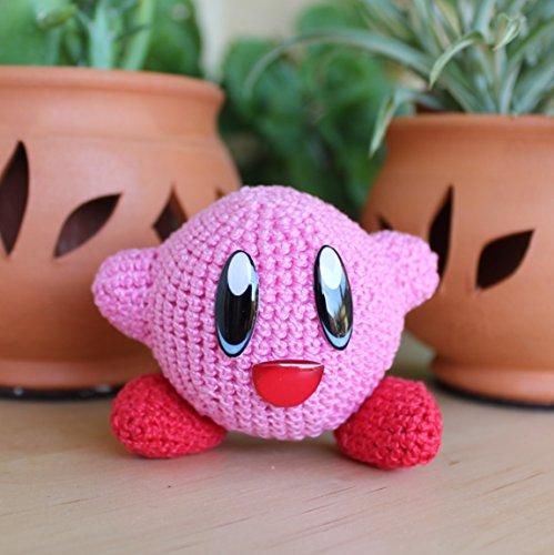 Round Plush Kirby – Pattern Free – Easy Crochet | Pokemon crochet ... | 500x499