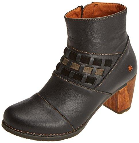 Art Damen Salzburg Kurzschaft Stiefel, Schwarz (Memphis Black), 40 EU (Stiefel Schuhe Art)