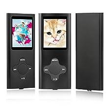 ES Traders Lettore MP3 Music Media 8gb Nero