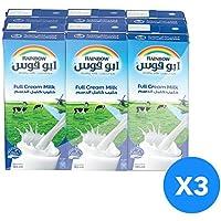Rainbow Full Cream Milk - Pack of 18 Pieces (18 x 185ml)