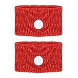 Bracciale anti-nausea per mal d'auto e autobus/ mal di mare/ nausee mattutine, regolabile, 5 colori