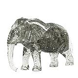 3D Crystal Puzzle 41 Stück 3D Puzzle Lernspielzeug Kinderspielzeug - Elefanten