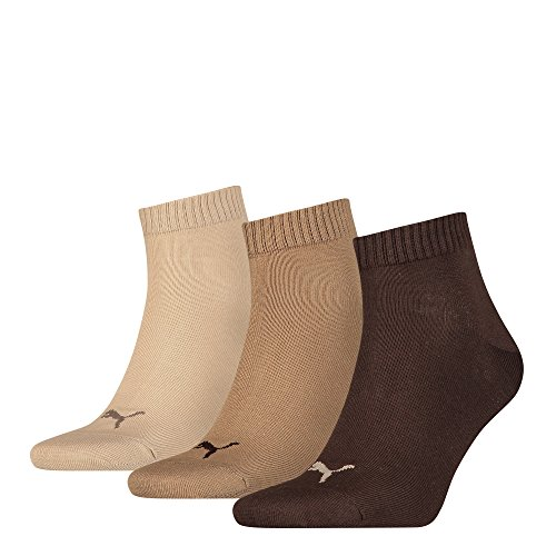 Puma Socken Quarter 3P Grey/White/Black