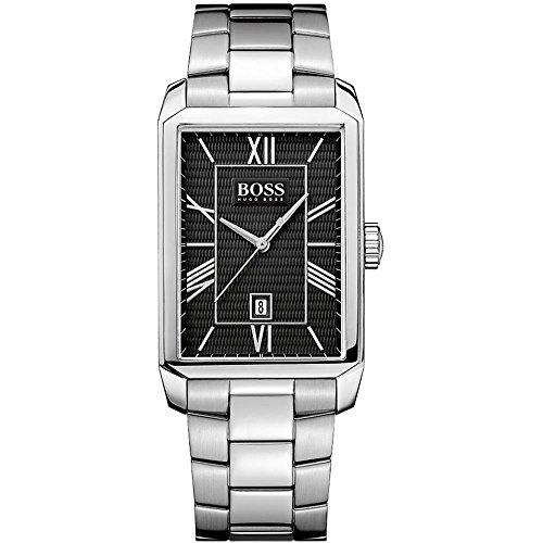 Hugo Boss Herren-Armbanduhr Analog Quarz Edelstahl 1512970