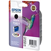 Epson T0801 Nero Inkjet / Getto d'Inchiostro Cartuccia