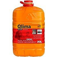 Qlima - Combustible para Estufas de Parafina, Bajo Olor y Alta eficiencia, 20 Litros