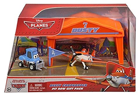 Planes - Y5736 - Véhicule Miniature - Garage - Stand de Course Pack 1