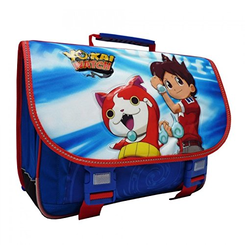 Yo-Kai Watch - Cartable 41 CM Yo-Kai Watch Haut de Gamme - Yokai