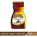Accumass Weight Gainer Capsules 60Caps For Men & Women