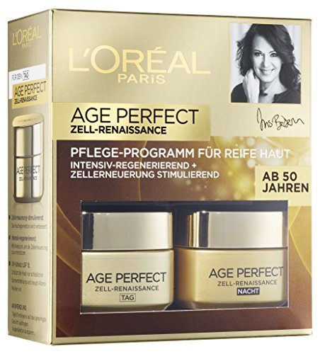 L'Oreal Paris Gesichtspflege Age Perfect Zell Renaissance Gesichtscreme Coffret 2x50ml
