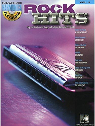 Harmonica Play-Along Volume 2: Rock Hits. Für Mundharmonika