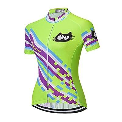 weimostar Outdoor Cycling Jersey Women Clothing Sports Blouse Short Sleeve Bike T-shirts Top Outdoor Riding Jersey bicycle Jacket from Weimostar