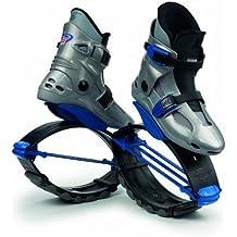 Kangoo Jumps Power Shoe (Kids) Silver and Blue, Boys 1- 3 by Kangoo Jumps KJ-Power Shoe JumpBoots
