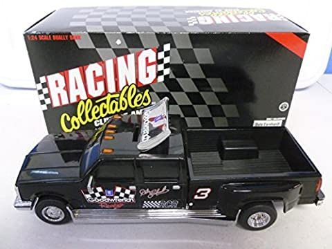 Action 1995 Dale Earnhardt Goodwrench Chevy Dually Black Window Bank 1:24