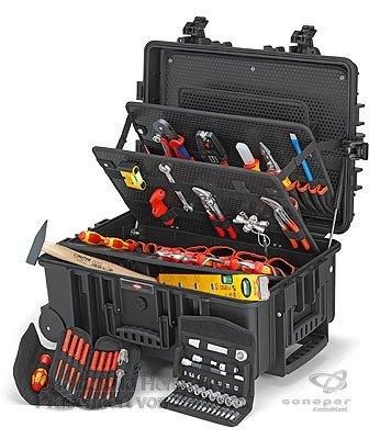 Knipex Werk Werkzeugkoffer 00 21 37 Best, flugtauglich Werkzeugset 4003773082606