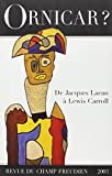 Ornicar ? numéro 50 - De Jacques Lacan à Lewis Carroll