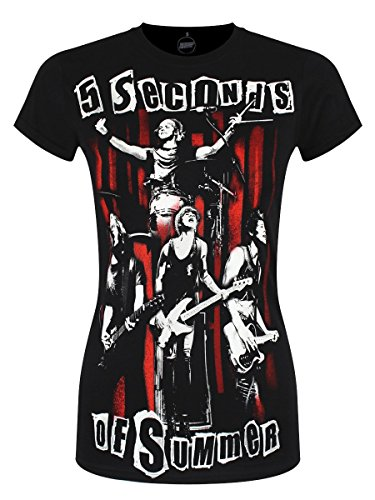 t-shirt-elasticizzata-spray-live-5-seconds-of-summer-nero-large
