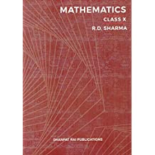 Mathematics for Class 10 by R D Sharma (Examination 2020-2021)