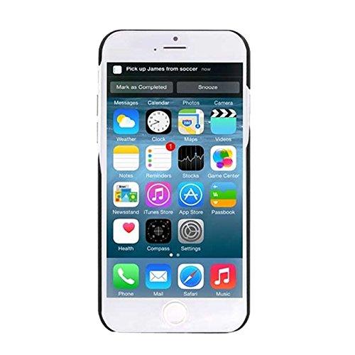 wkae Schutzhülle Case & Cover 0,7mm Ultra Thin Polycarbonat Materialien PC Schutz Fall für Iphone 6& 6S Black