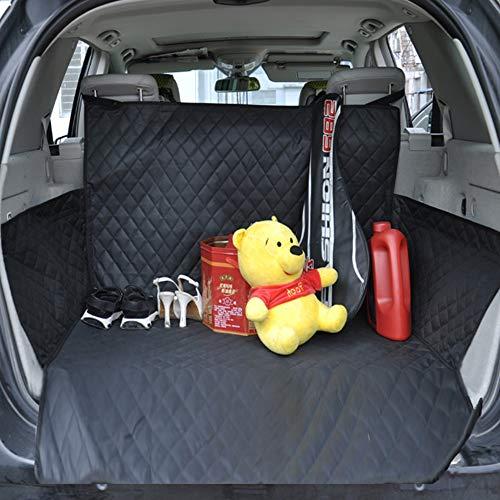 ZTXY SUV Tronco Speciale Tappetino Impermeabile 600d Oxford Tappetino di Protezione Auto più Lunghe Nero Pet Travel Cushion Jack Fisso Sicuro Comodo per Uso Esterno