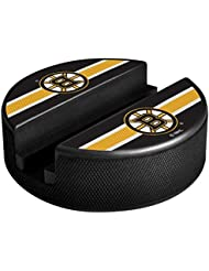 Sher-Wood de Wood Boston Bruins NHL Puck Media Device Holder