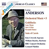 Anderson, L.: Orchestral Music, Vol. 5 - Goldilocks / Suite Of Carols (Version For Woodwinds)