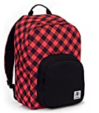 Backpack Invicta Ollie Pack Fantasy '17 Red Plaid