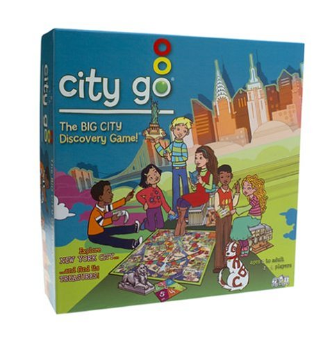 City Go- The Big City Discovery Board Game
