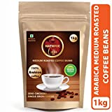 Hathmic 100% Arabica Coffee Beans Roasted 1 Kg (Medium Roast)