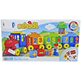Babysid Collections Building Blocks For Kids My First Counting Train Blocks 45 Pcs Includes Starting Cards