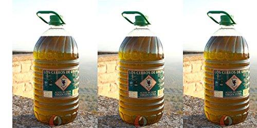 Aceite de oliva Los Cerros de Úbeda - 3 garrafas pet 5...