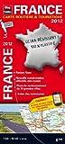 France 2012 - Carte routière et touristique - Echelle : 1/1 000 000 (1cm = 10 km) - Localisation des radars fixes...