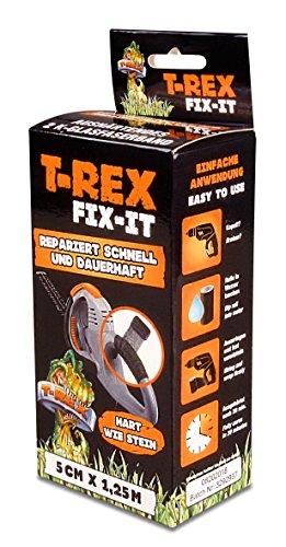 T-Rex 221786 Fix it Glasfaserband Komplettset, 50 mm x 1,25 m
