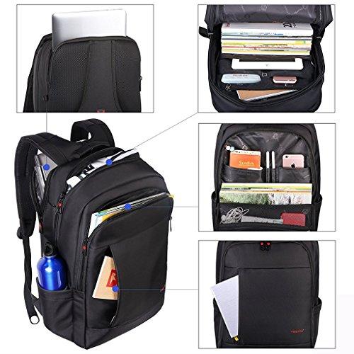 norsens notebook laptop rucksack 17 zoll gepolstert. Black Bedroom Furniture Sets. Home Design Ideas