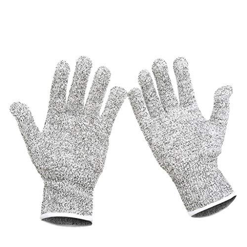 a12eb188b927d WangYi Protective Gloves- Gants Anti-Coupure à 5 Niveaux épaissis Anti-coupures  Gants
