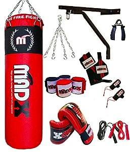 MADX Box-Set, 13-teilig, 1.22 meters gefüllt, Boxsack, Handschuhe, Kette,...