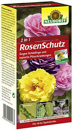 NEUDORFF Enthält die Produkte Spruzit Schädlingsfrei und Fungisan Rosen-Pilzfrei
