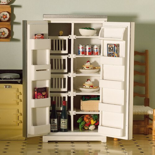 The Dolls House Emporium Larder Style, Fridge-Freezer by The Dolls House Emporium