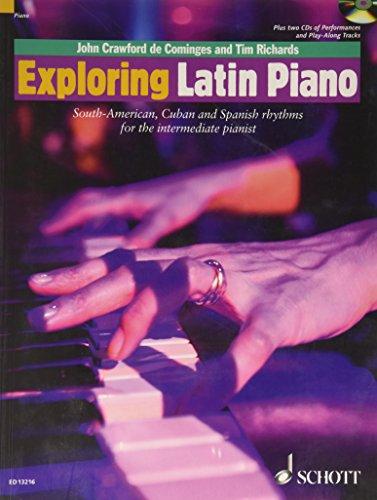 Exploring Latin Piano +CD --- Piano (Mthode de musiques d'Amrique du Sud)