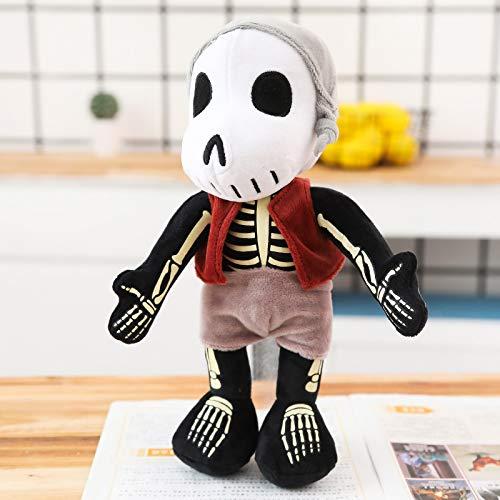 Kreative Cartoon Puppe Piraten Der Karibik Serie Puppe Plüsch Spielzeug Puppe Stofftier 45 cm Skelett