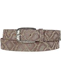Vanzetti ceinture pour femme avec Python, Largeur   3,5 cm, ... f3fbed4a641