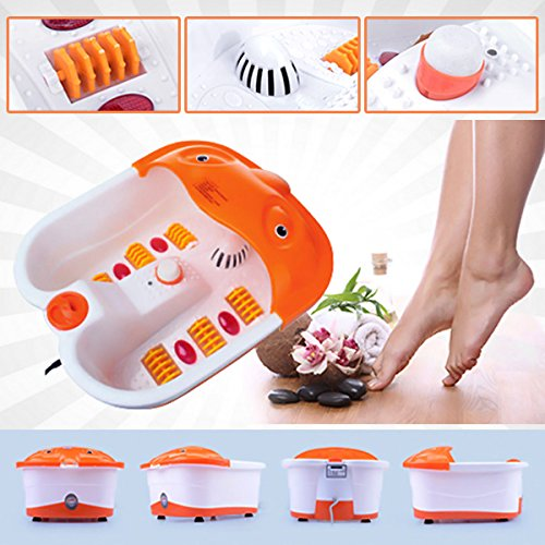 Stvin Professional Foot Bath Massager With Infrared Foot Spa Massager With Roller