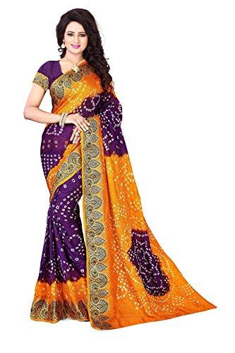 Dealsure Art Silk Saree (Ds-S3014_Multicolor)