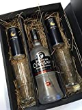 Russian Standard Vodka Set / Geschenkset -Russian Standard Vodka 700ml (40% Vol) + 2x Gläser + 2x 28 Black Acai 250ml