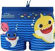Characters Cartoons Baby Shark Pinkfong – Bañador para niño – Bañador tipo bóxer, calzoncillo, parisino, pisci