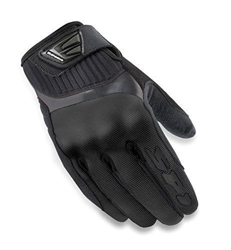SPIDI B48-026- L Motorcycle G-Flash Tex Gloves, Black, Size L