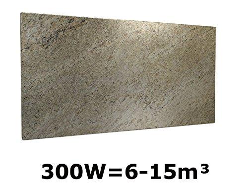 300W CALEFACCION POR INFRARROJOS MARMOL BEIGE  50X 50CM  PARA HABITACIONES 6–15M³  IP44  HVH300MR